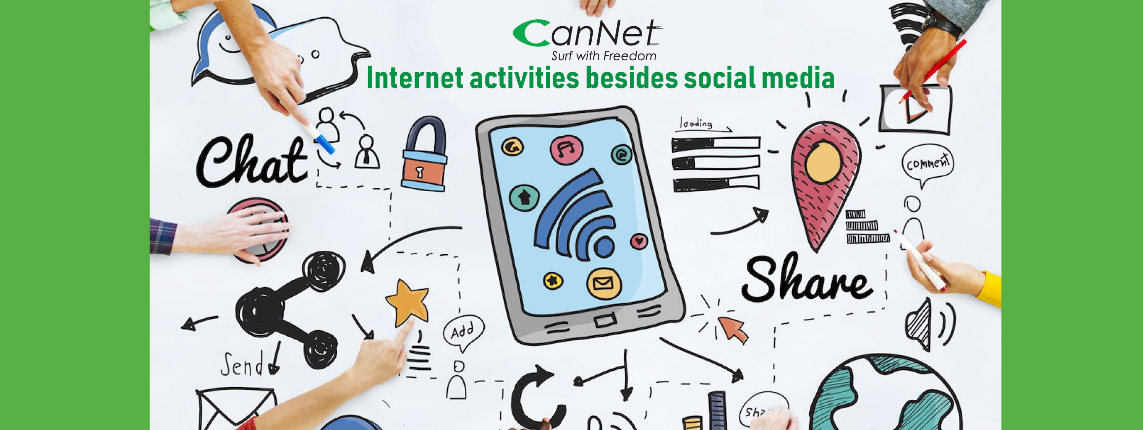 Things to do on the Internet besides social media